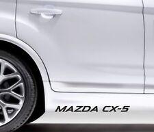 2x Side Skirt Stickers Mazda CX-5 Premium Qaulity Graphics Decals VL42