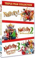 Natività! 1, 2 E 3 Triplo Film Cofanetto Nuovo / Sigillato DVD