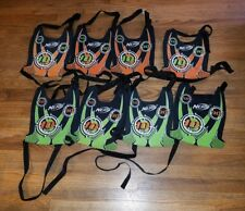 8 NICE NERF Vests Dart Tag Lot Orange Green Team Ops Excellent