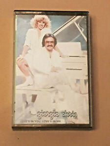 GIORGIO MORODER & CHRIS LOVES IN YOU LOVES IN ME CASSETTE TAPE FALTERMEYER MOOG