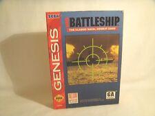 Super Battleship  -Sega Genesis Art Work Sleeve Only! *original Sega*