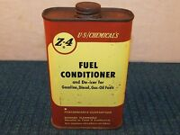 Vintage Z-4 Fuel Conditioner Metal Can Car Truck Tractor Marine Oil Can 1 Pint