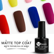 MTSSII 7ml Matte Top Coat Shiny Led UV Soak-Off Gel Nail Polish Surface Lacquer