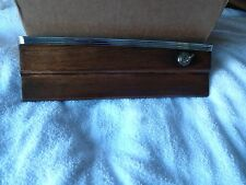 Mercedes w111 w112 glove compartment wood door with lock & key