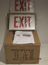 ASTRALITE LED EXIT LIGHT EMERGENCY TP-U-R-W-EM NEW IN BOX-FREE SHIPPING(BNIB)!!!