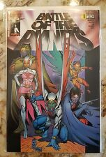 BATTLE OF THE PLANETS #1 NM- VARIANT CVR 2002 HIGH GRADE TOP COW IMAGE COMIC 2