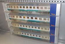 Roco H0 74330 - 74332 FS Reisezugwagen SET Eurofima XMPR Personenwagen Ep.V