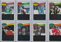 LOT OF**31** TOPPS HOCKEY 1980/81 TEAM LEADER CARDS NM/MT FROM VENDING FREE SHIP