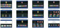 GB 1983 - 2009 Definitive and Regional Presentation Packs NEW LISTING packs 1-59