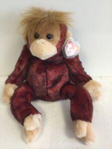 TY BEANIE Buddy - SWEETHEART the Orangutan Bear - G22