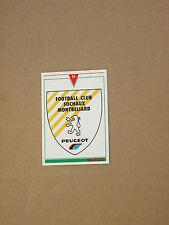Carte official football cards panini 1993  FC SOCHAUX MONTBELLIARD  LOGO BLASON