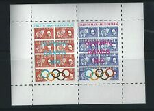 GB Locals Calf of Man Olympic Games Sheet 1972
