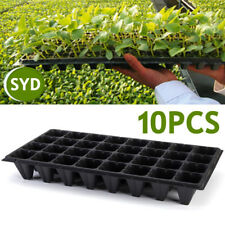 10x 32 Cell Seedling Starter Tray Seed Germination Garden Plant Propagation Pot
