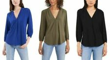 Two by Vince Camuto Ladies' V-Neck Long Sleeve Top