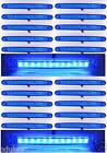 20x 24v Azul 12 LED Contorno Lateral Luces de marcaje PARA EL CARRO REMOLQUE