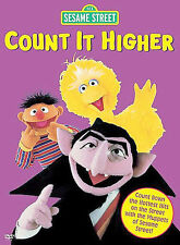 Sesame Street - Count It Higher: Great Music Videos (DVD, 2005)