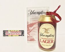 "Yuengling Traditional Lager Beer Can Ornament 3.5"" Tall - Brand New In Box!"