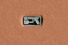Silver Second Amendment Gun Laws .999 Fine Bar One Gram