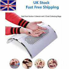 3 Fans Nail Dust Suction Collector Cleaner Tool Art Table Machine Dust Extractor