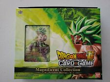 DRAGON BALL SUPER EXPANSION SET 08 MAGNIFICENT COLLECTION BROLY VERSION