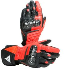 Guanto moto racing in pelle dainese carbon 3 long gloves Rosso