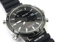 Mens Blue Steel SEIKO Lorus Dual Chrono Sports Watch Z021-X004 - 100m