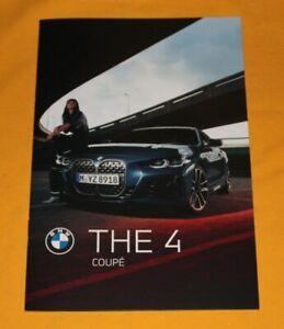 BMW 4er 2020 Prospekt Brochure Depliant Prospetto Catalog Folder G22
