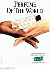 PUBLICITE ADVERTISING 086  1984  United Colors of Benetton eau parfum toilette