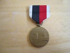 World War 2 (WW II)  1945 United States Army Occupation Medal with Ribbon