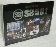 SS501 Album Covers Taiwan Promo Postcard Booklet (14P) rebirth find all my love