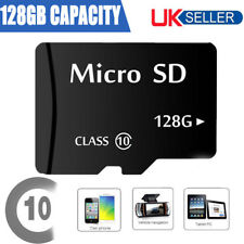 128GB Micro SD Card Class 10 TF Flash Memory SDHC SDXC + Adapter 128G UK SELLER