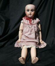Superbe poupée bébé jumeau Diplôme d'honneur 230 SFBJ bouche ouverte