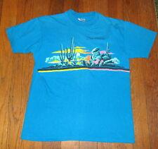 Vtg 1980's SAN ANTONIO T-SHIRT Desert Cactus Texas T-shirt M, L Men's, Women's