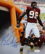 Brian Orakpo Autographed 8x10 Yelling Photo- JSA Authenticated
