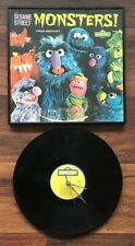 Sesame Street Monsters! Vinyl Record Clock & Framed Album Cover Custom Made Kids