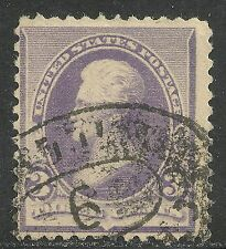 U.S. stamp scott 221 - 3 cent Jackson issue of 1890