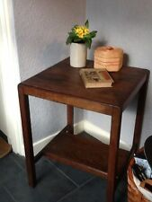 Art Deco Style Square Side & End Tables with Shelves