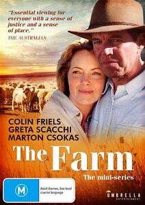 THE FARM – DVD  THE MINI-SERIES - REGION-ALL - NEW AND SEALED-FREE POST AUS-WIDE