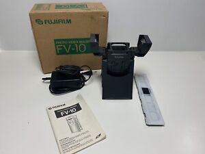 Fujifilm FV-10D Digital Photo-Video Imager Foto Film Diascanner TV PC Recorder