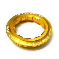 gobike88 TOKEN Lock Ring for Shimano Cassette, 11T, Gold, 009