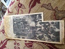 m11f ephemera 1930s picturE wedding king farouk queen farida egypt