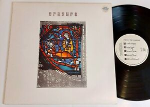 ERASURE - the innocents - UK vinyl LP 1988 with inner and ltd ed insert print