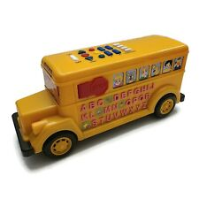 Educational Interactive Bus Toy Learning Numbers Alphabet Letters Music Effects