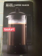New Bodum French Press Brazil Coffee Tea Maker Dishwasher Safe No Reserve