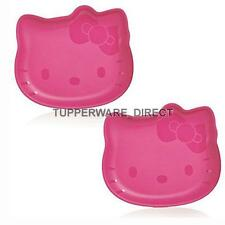 Tupperware hello kitty snack plates - Snack/Picnic Plates - Microwave