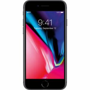 Apple iPhone 8 Space Gray 64GB A1863 LTE GSM CDMA Verizon Unlocked - Really Good