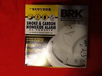 First Alert / BRK Smoke & Carbon Monoxide Alarm  Model SC9120B   120V AC