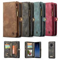 Geldbeutel Schutzhülle für Samsung Galaxy S9/S9 Plus SM G960 G965 Flip Case Etui