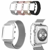 Case with Milanese Mesh Loop Band for Apple Watch Series 1 / 2 / 3 / 4 / 5