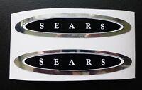 Sears JC Higgins Flightliner bicycle tank decal sticker pair